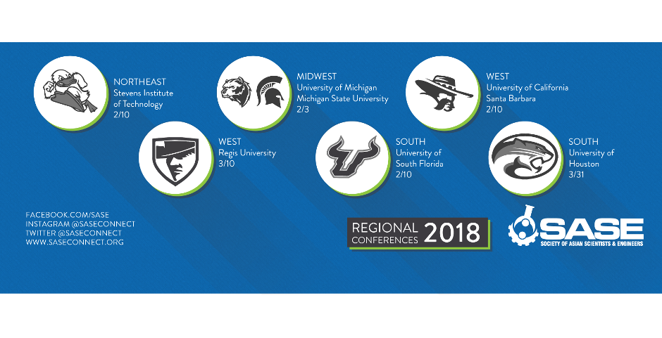 2018 SASE Regional Conferences Thumb
